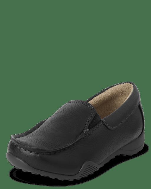 Zapatos de vestir sin cordones para niños pequeños
