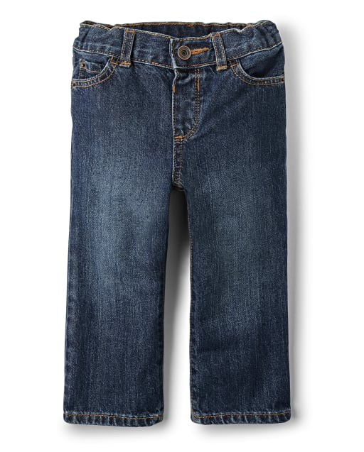 Baby And Toddler Boys Basic Loose Jeans