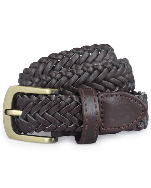 Toddler Boys Uniform Braided Belt