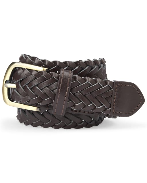Boys Uniform Braided Belt