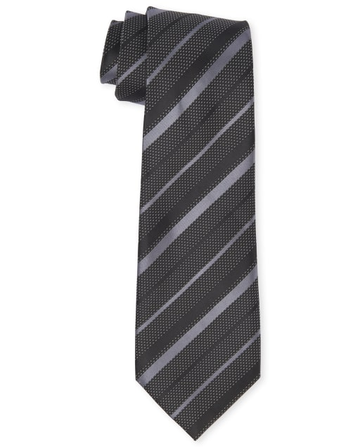 Corbata a rayas uniforme para niños