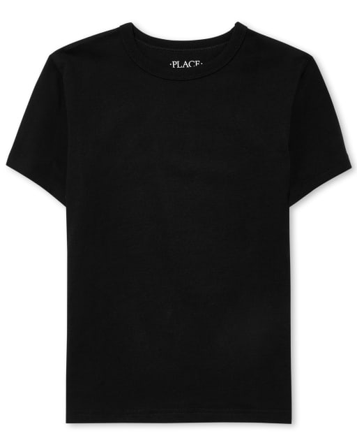 Camiseta de capas básicas de manga corta uniforme para niños