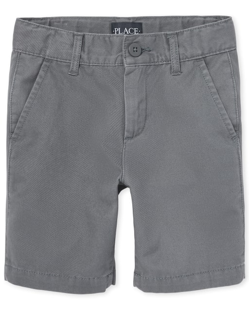 Boys Uniform Woven Chino Shorts