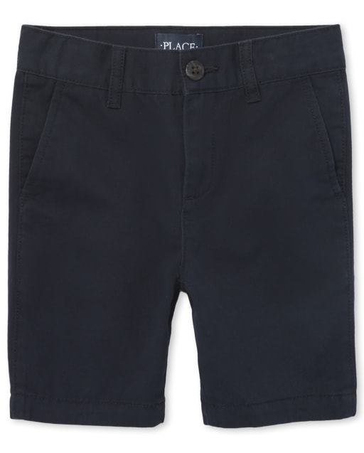 Boys Uniform Woven Chino Shorts