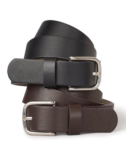 Paquete de 2 cinturones de uniforme para niñas