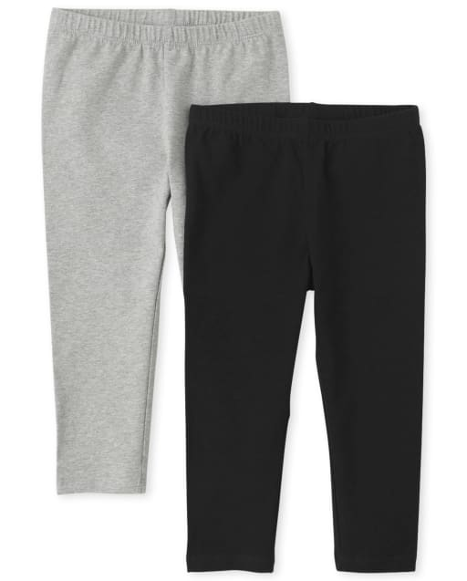Girls Capri Leggings 2-Pack