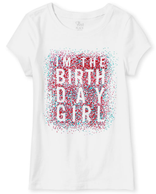 Girls Birthday Graphic Tee