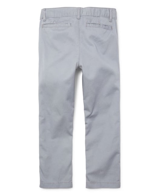 9-12MOS The Childrens Place Baby Boys Skinny Chino Pants New Navy 7033