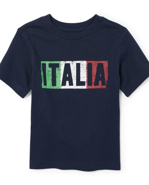 Toddler Boys Italia Graphic Tee