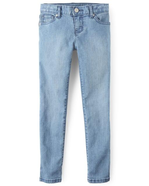 Jean básico superajustado para niñas