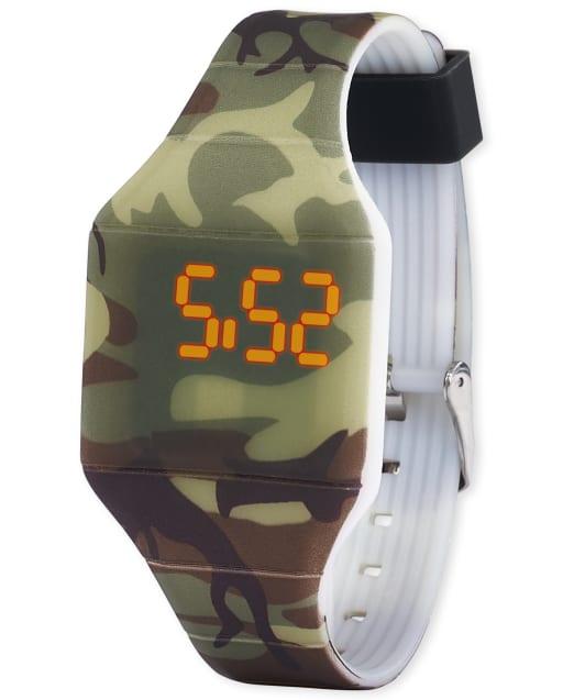 Boys Camo Digital Watch
