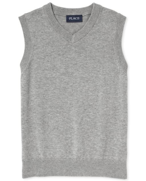 Boys Uniform V-Neck Sweater Vest