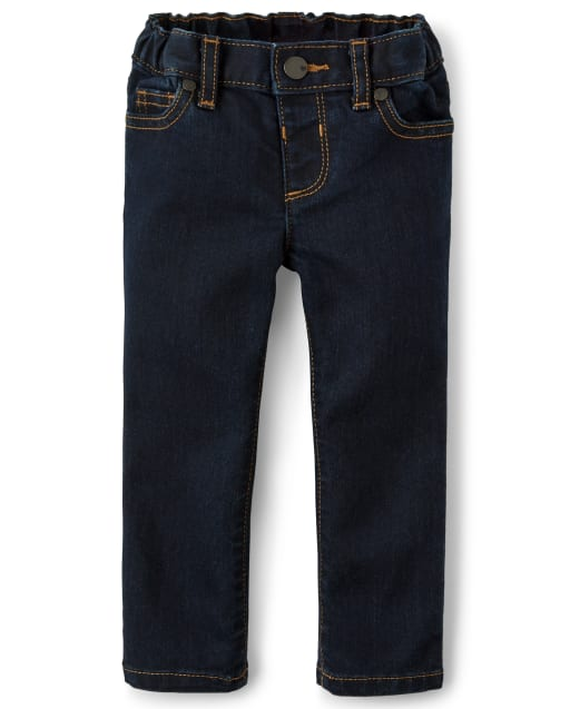 Baby And Toddler Girls Basic Stretch Super Skinny Jeans