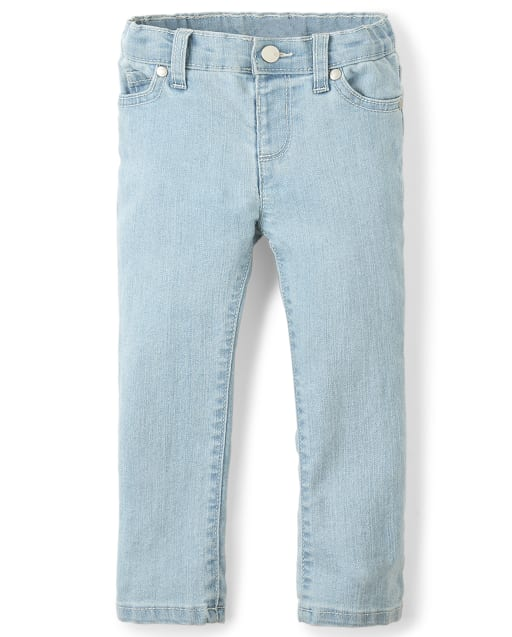 Baby And Toddler Girls Basic Stretch Skinny Jeans