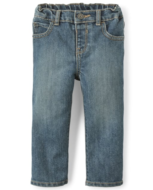 Baby And Toddler Boys Basic Bootcut Jeans - Tide Pool Wash