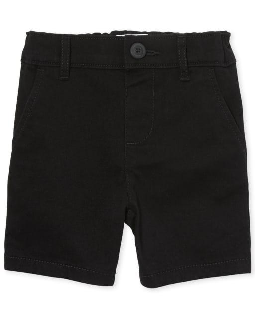 Toddler Girls Uniform Woven Chino Shorts