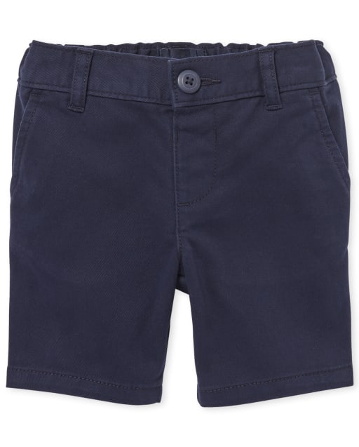 Toddler Girls Uniform Woven Chino Shorts