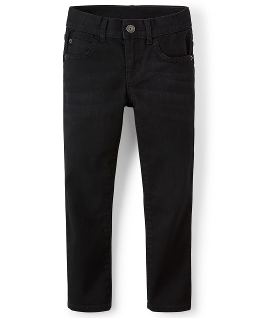 Boys Basic Super Skinny Stretch Jeans - Black Wash