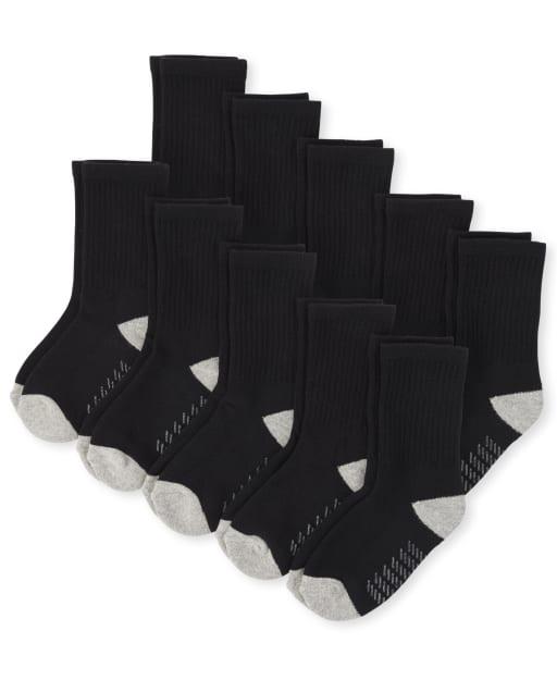 Pack de 10 calcetines para niños pequeños
