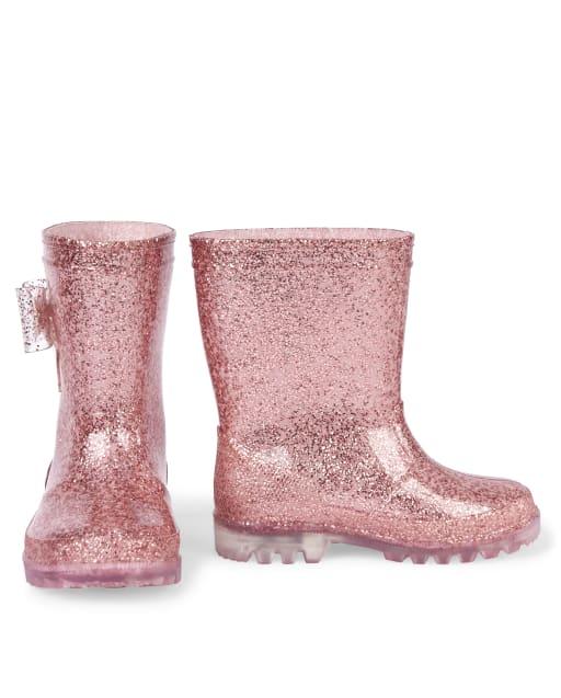 Toddler Girls Glitter Light Up Plastic