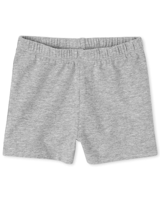Shorts con volantes para niñas pequeñas