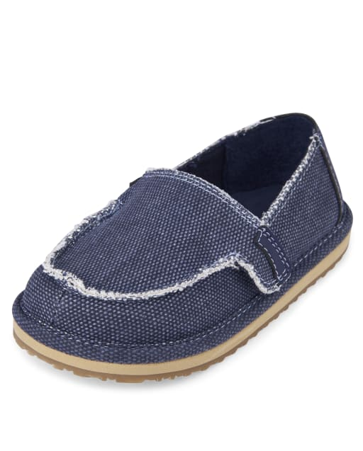 Toddler Boys Canvas Slip on Shoes