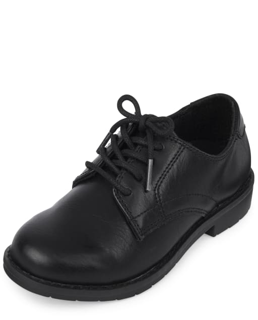 Boys Lace Up Dress Shoes