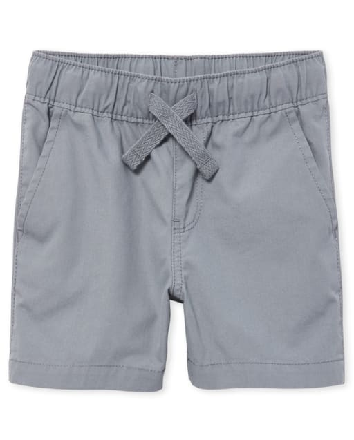Baby And Toddler Boys Woven Pull On Jogger Shorts