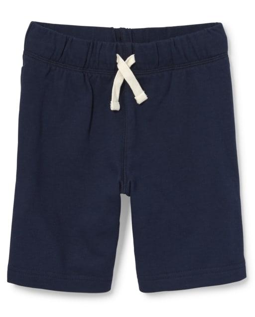 Shorts de felpa francesa uniformes para niños