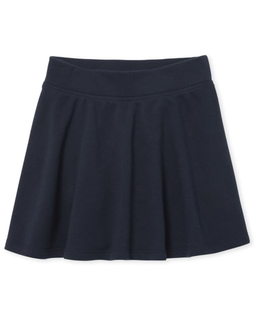 Girls Uniform Active French Terry Skort