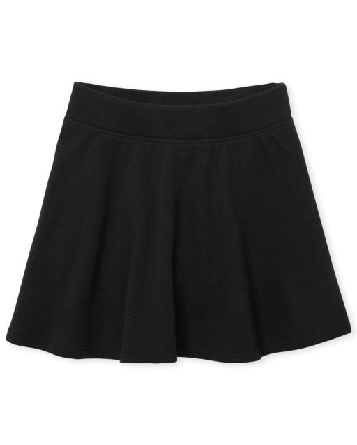 Falda de felpa francesa activa uniforme para niñas