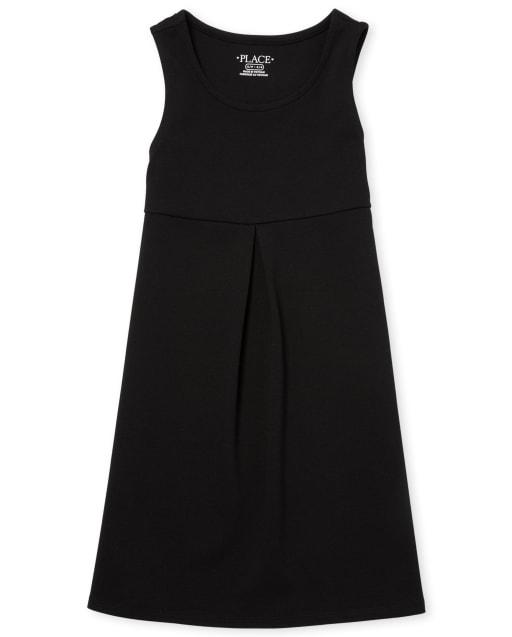 Jersey de punto Ponte sin mangas, uniforme para niñas
