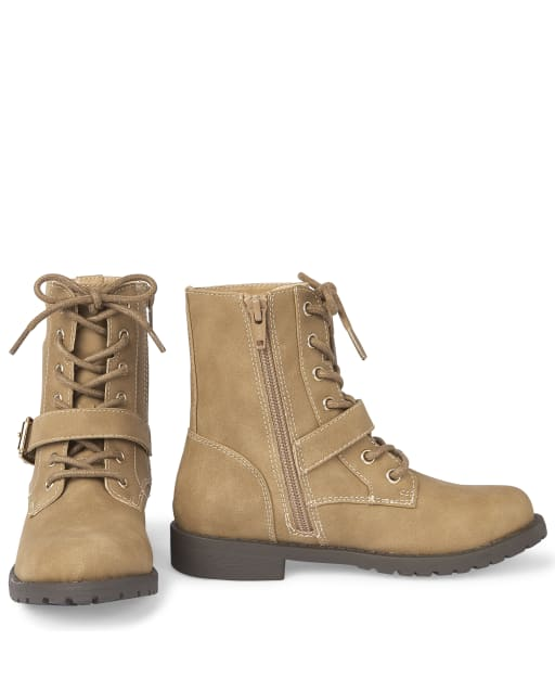 lace up boots girls