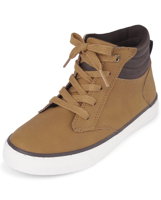 The Childrens Place Boys Bb Hi Jet Sneaker
