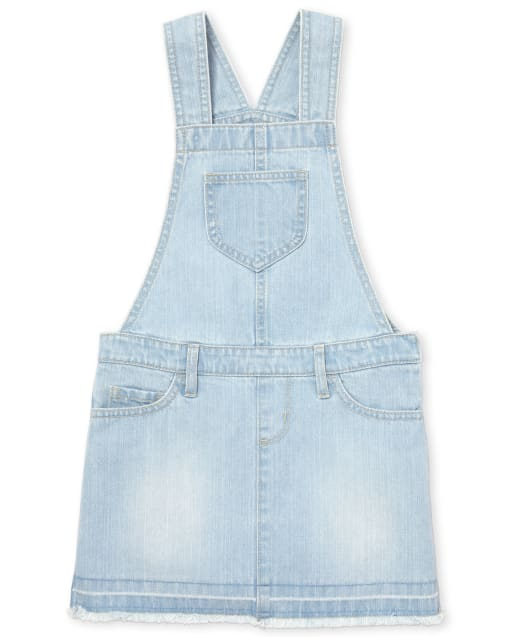 The Childrens Place Girls Button Front Denim Skirtall