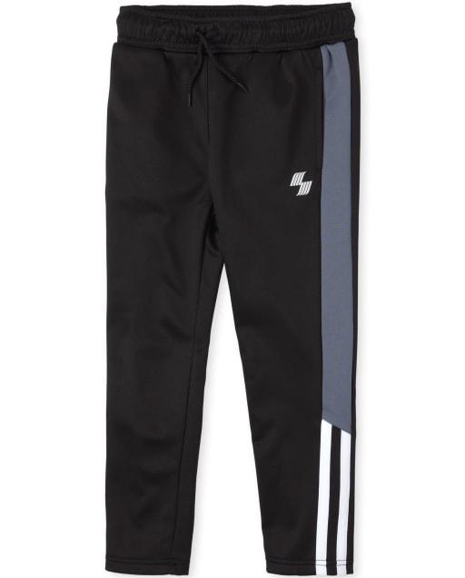 Boys PLACE Sport Side Stripe Knit Performance Fleece Track Pants