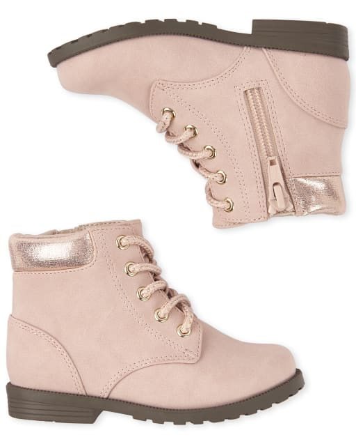 little girls lace up boots