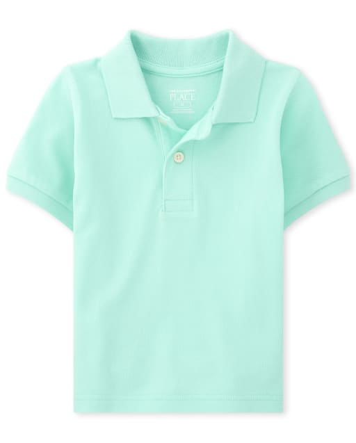 Baby And Toddler Boys Short Sleeve Matching Pique Polo