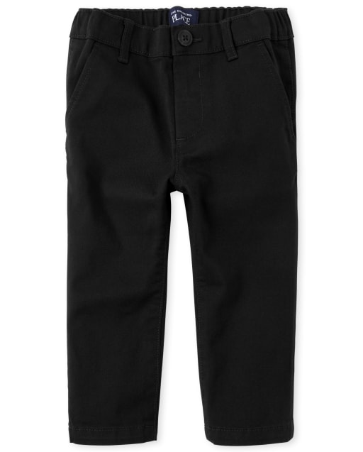Baby And Toddler Boys Woven Stretch Skinny Chino Pants