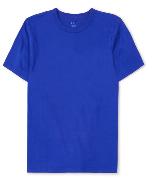 Boys Short Sleeve Basic Layering Tee
