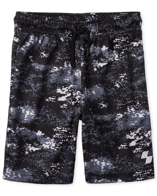 Boys PLACE Sport Camo Knit Performance Basketball Shorts