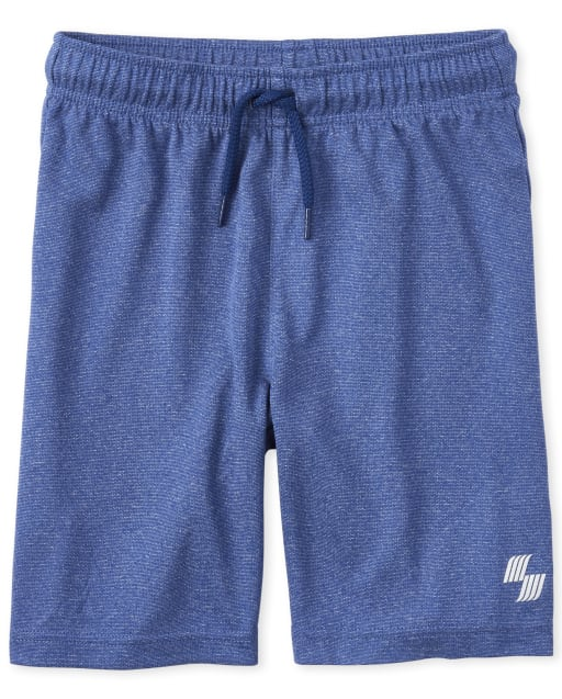 Boys PLACE Sport Marled Knit Performance Basketball Shorts
