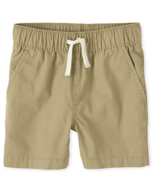 Baby And Toddler Boys Pull On Matching Jogger Shorts