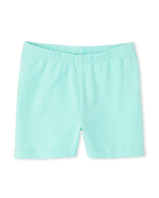 Girls Knit Cartwheel Shorts