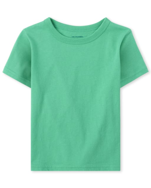 Baby And Toddler Boys Short Sleeve Basic Layering Tee