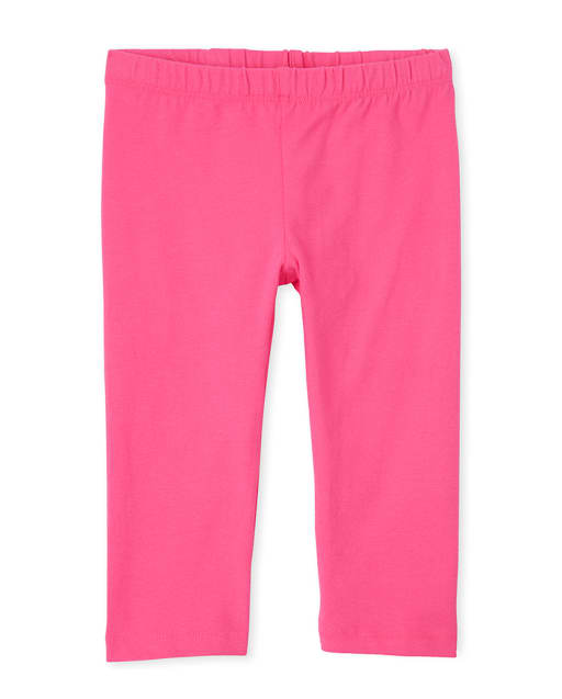 Girls Knit Capri Leggings