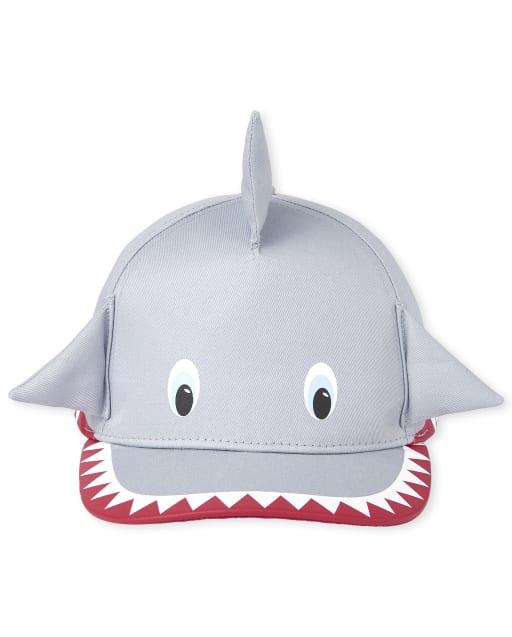 Toddler Boys Shark Baseball Hat