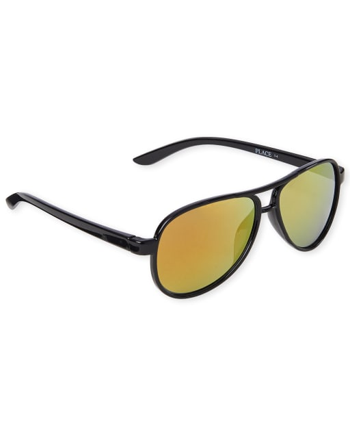 Toddler Boys Aviator Sunglasses
