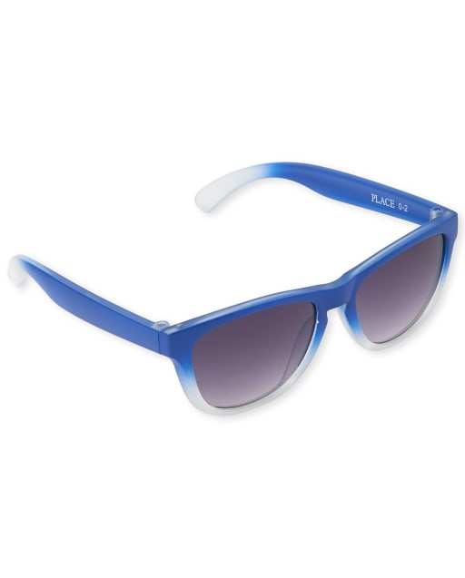 Toddler Boys Ombre Retro Sunglasses