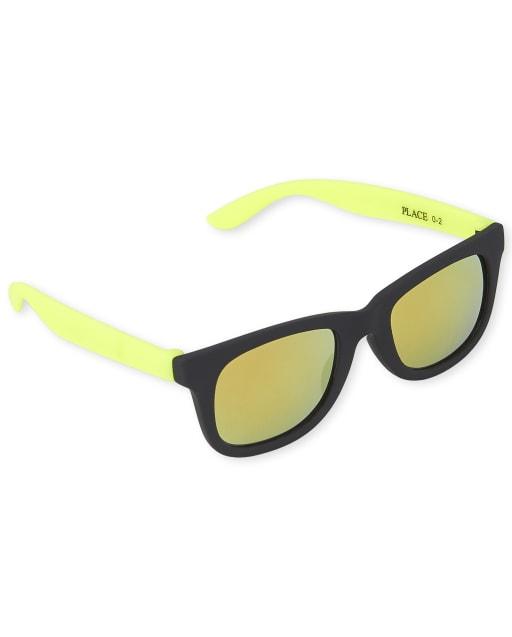 Toddler Boys Retro Sunglasses